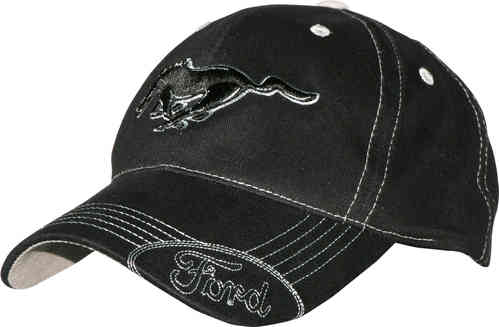 "Mustang Cap ""Black Pony"""