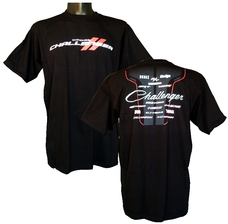 Dodge Challenger T-Shirt - US-car- and NASCAR-