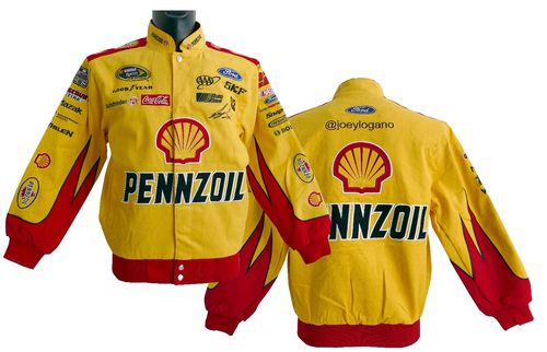 Pennzoil,  # 23 Joey Logano , Ford jacket