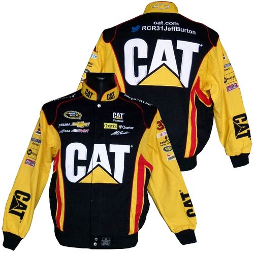 CAT ,  # 31 Jeff Burton jacket