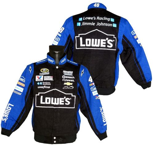 Lowes , # 48 - Jimmie Johnson Jacke blk./roy