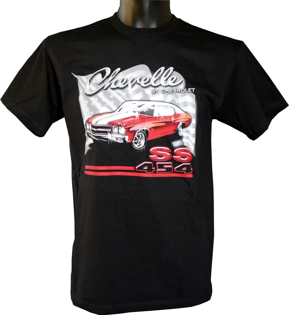 chevrolet chevelle t shirt us car und nascar bekleidung. Black Bedroom Furniture Sets. Home Design Ideas