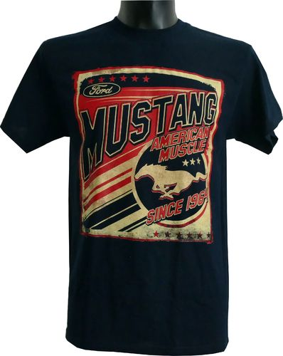 "Mustang T-Shirt :  ""American Muscle"""