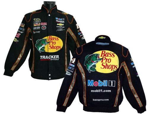 Bass Pro Shops jacket,  # 14 - Tony Stewart