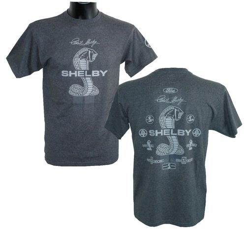 Shelby Collage T-Shirt - grey