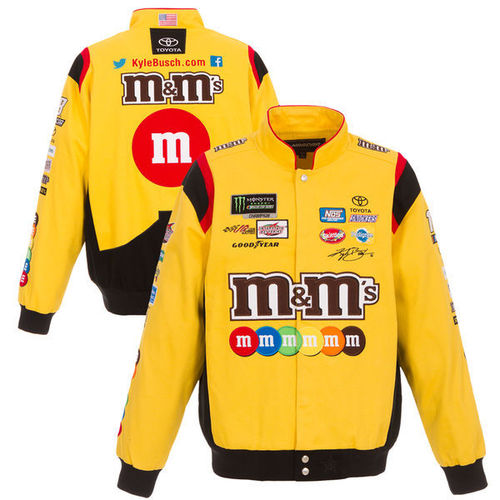 m&m`s ,  # 18 - Kyle Busch - yellow