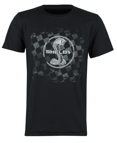 "Cobra T-Shirt - ""Asphalt Checkered """
