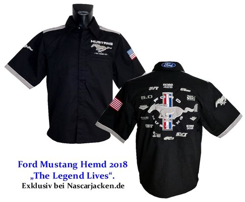 "Mustang Hemd - ""Limited Edition"" - 2018"