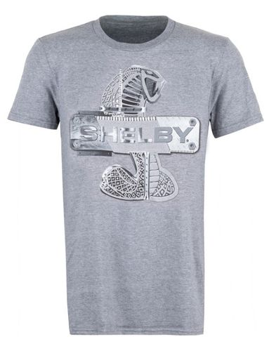 "Shelby Cobra T-Shirt - ""Metal Tee"""