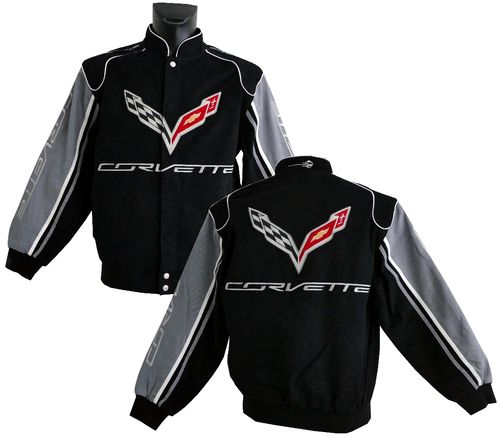 Corvette C7 jacket - 2016 - grey