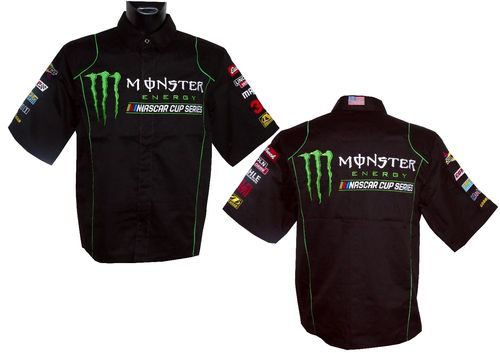 "NASCAR pit shirt ""Monster Energy"""