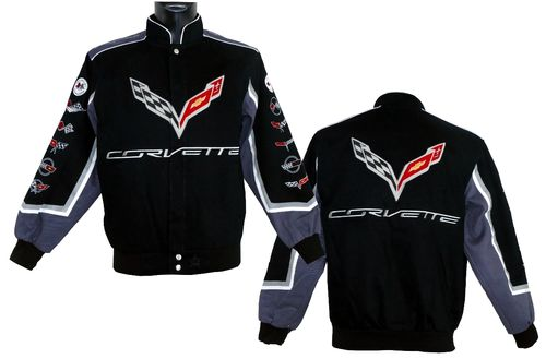 Corvette Jacke - History Collage