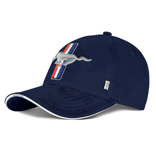 "Mustang Cap ""Pony"" - blue"