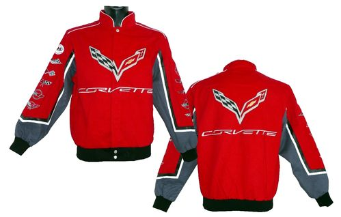 Corvette - Collage Jacke 2019 - Sonderedition red