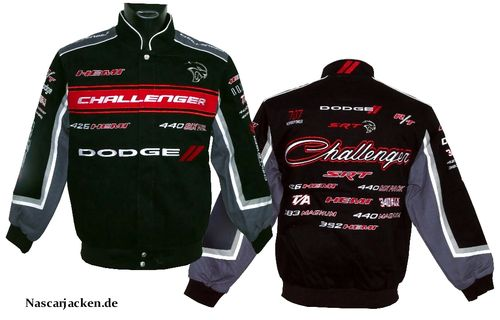 Dodge Challenger Jacke - History Collage