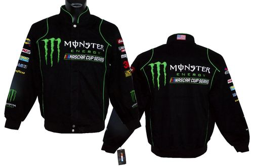 NASCAR - Monster Energy jacket.