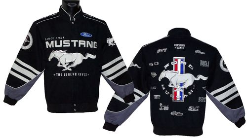 MUSTANG jacket - Limited Collage 2018