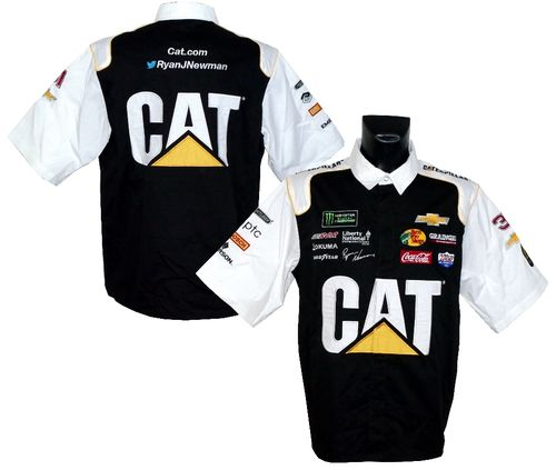 Ryan Newman - Caterpillar pit shirt