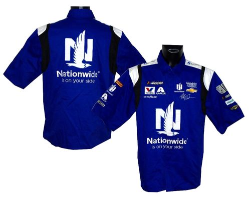 Alex Bowman - Nationwide pit shirt