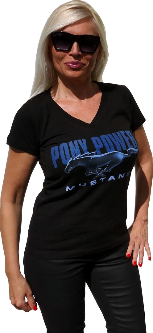 "Mustang Damen T-Shirt - ""Pony-Power"""