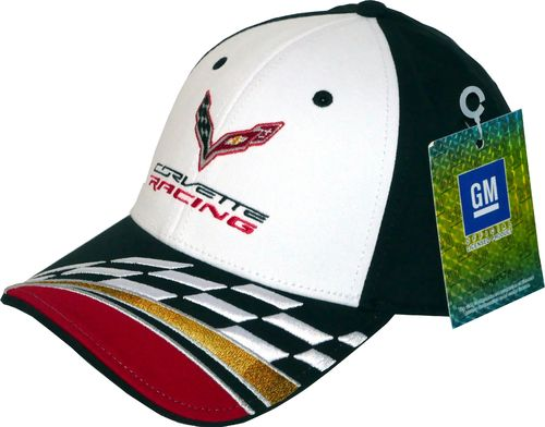 "Corvette ""Checkered Flag"" Cap"