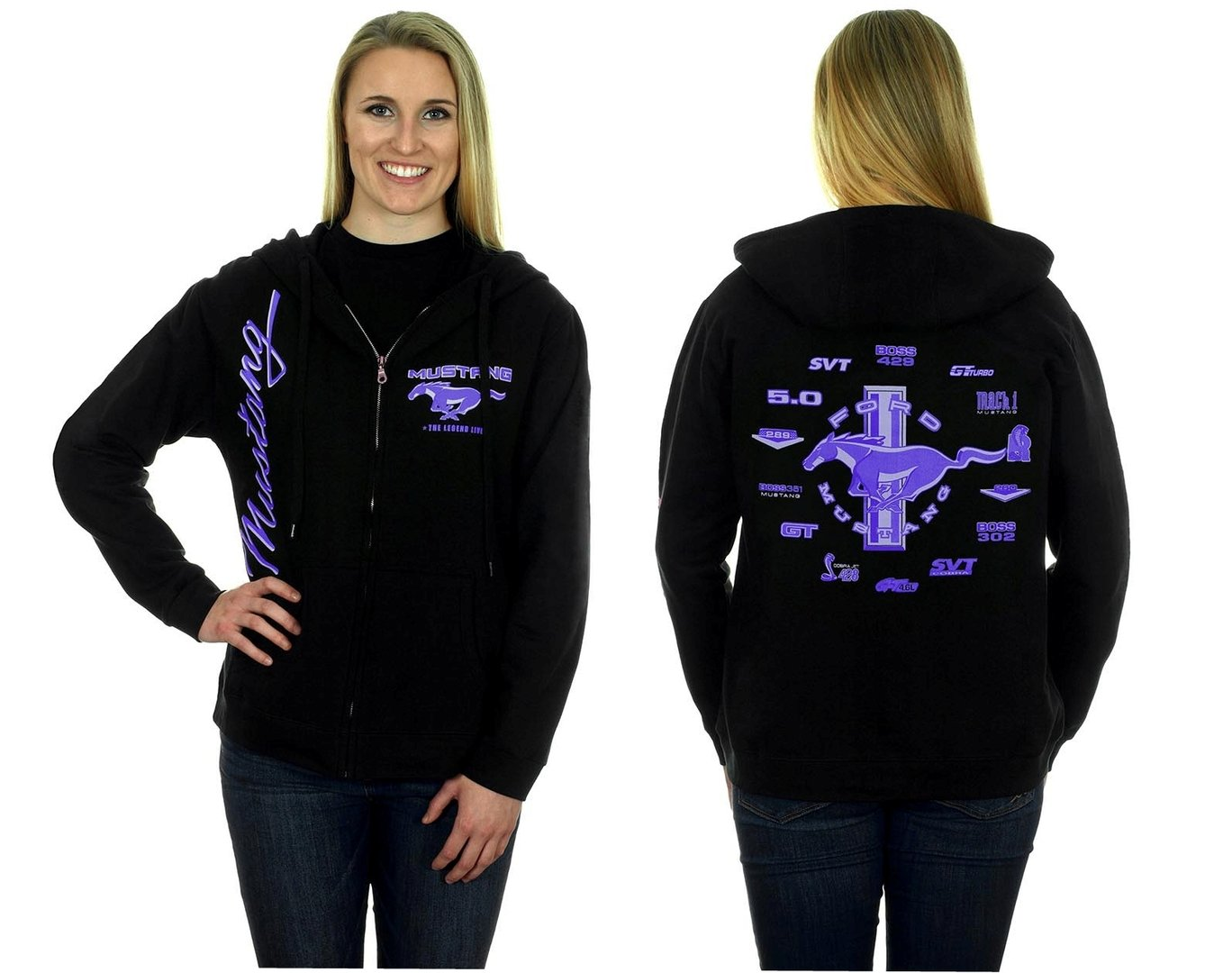 Mustang ladies hoodie - limited colour edition