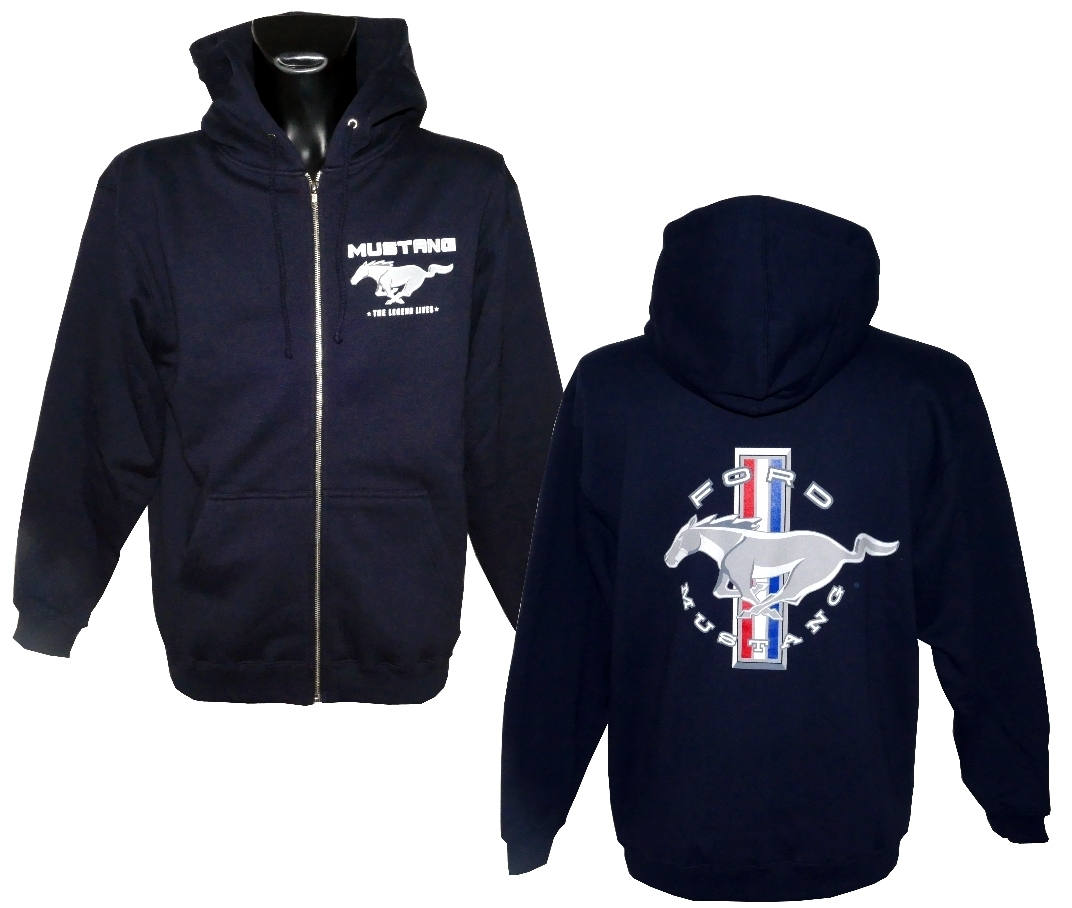 Ford Mustang Hoodie - limited Edition 2018 - blau