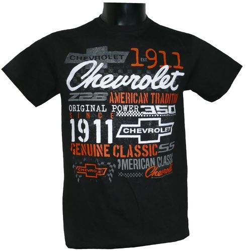 "Chevrolet ""History Collage"" T-Shirt"