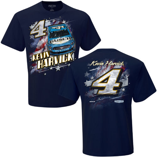 #4, Kevin Harvick - Busch Beer - Patriotic T-Shirt