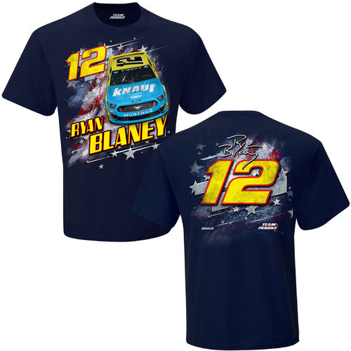 "#12, Ryan Blaney, ""Patriotic T-Shirt"""