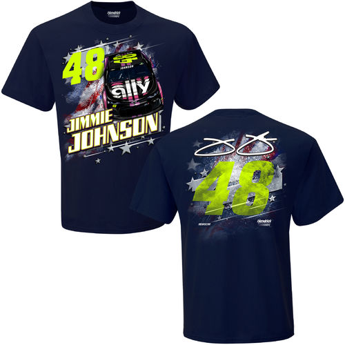"#48, Jimmie Johnson - ""Patriotic T-Shirt"""
