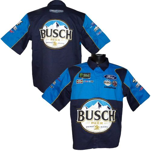 "Kevin Harvick - ""Busch Beer"" pit shirt - 2019"