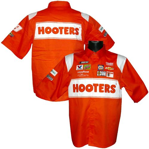"Chase Elliott - ""Hooters"" pit shirt - 2019"
