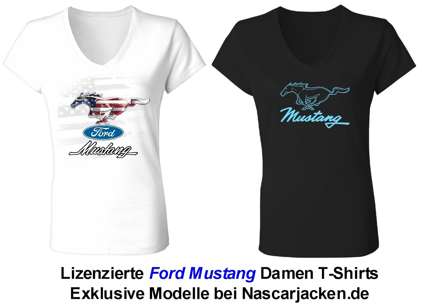 "Mustang ladies T-Shirts - ""Pony"" - 2019"