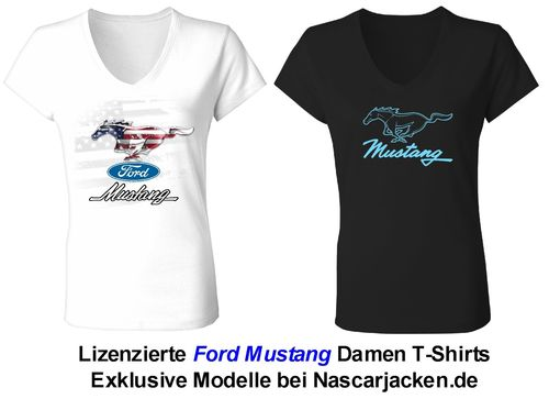 "Mustang Damen T-Shirts - ""Pony"" - 2019"