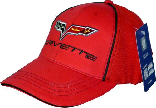 "Corvette C7 Cap ""Red"""