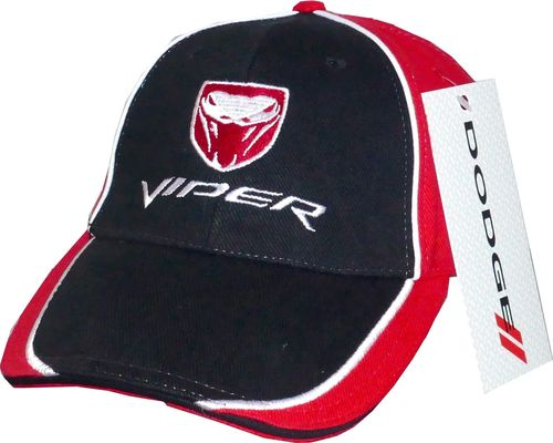Dodge Viper Basecap - blk./red