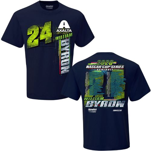 William Byron - NASCAR Schedule T-Shirt 2020