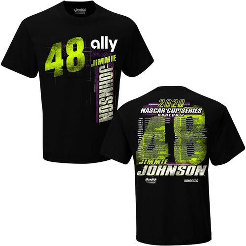 Jimmie Johnson - NASCAR Schedule T-Shirt 2020