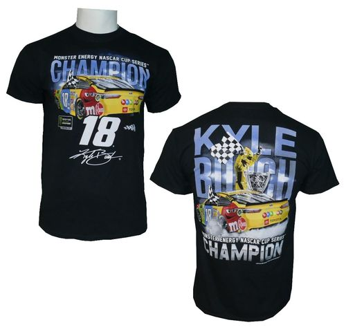 #18, Kyle Busch Championship Victory 2019 T-Shirt