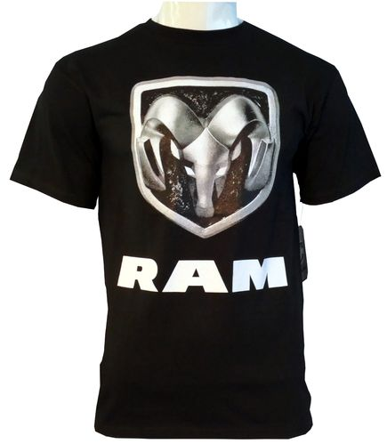 Dodge RAM T-Shirt im Vintage-Look