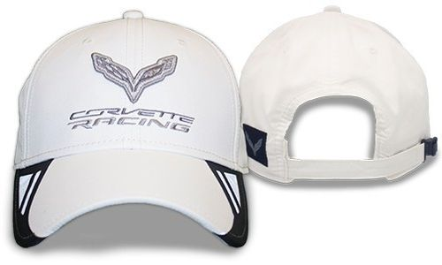 Corvette C7 Cap in weiß