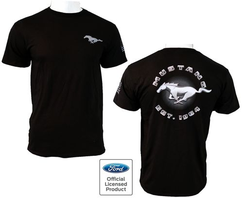 "Ford Mustang T-Shirt ""EST 1964"""
